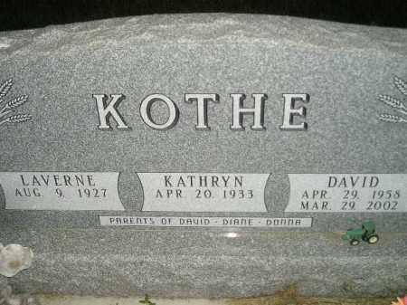 KOTHE, DAVID - Miner County, South Dakota | DAVID KOTHE - South Dakota Gravestone Photos