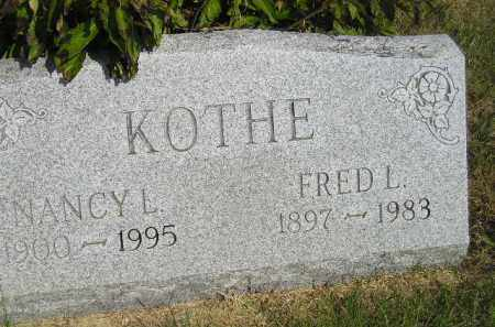 KOTHE, NANCY L. - Miner County, South Dakota | NANCY L. KOTHE - South Dakota Gravestone Photos