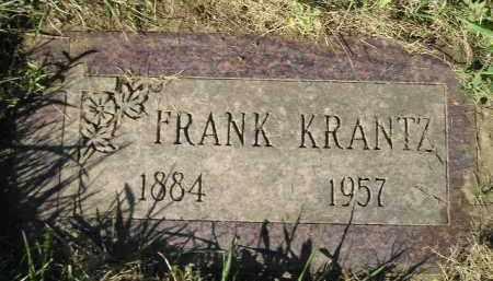 KRANTZ, FRANK - Miner County, South Dakota | FRANK KRANTZ - South Dakota Gravestone Photos