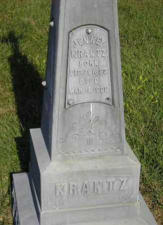 KRANTZ, JENNEY - Miner County, South Dakota | JENNEY KRANTZ - South Dakota Gravestone Photos