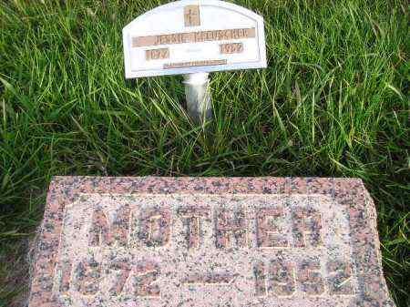 KREUSCHER, JESSIE - Miner County, South Dakota | JESSIE KREUSCHER - South Dakota Gravestone Photos
