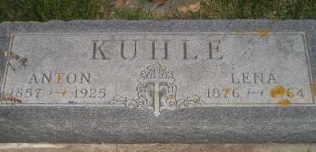 KUHLE, ANTON - Miner County, South Dakota   ANTON KUHLE - South Dakota Gravestone Photos