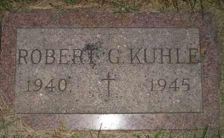 KUHLE, ROBERT G. - Miner County, South Dakota | ROBERT G. KUHLE - South Dakota Gravestone Photos