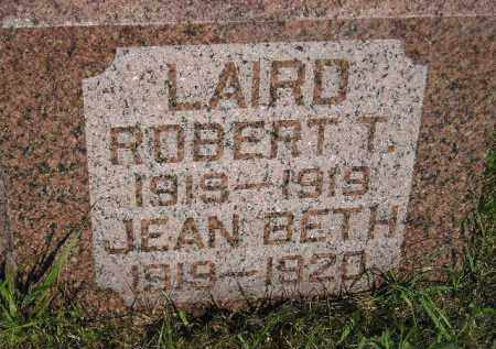 LAIRD, ROBERT T. - Miner County, South Dakota | ROBERT T. LAIRD - South Dakota Gravestone Photos