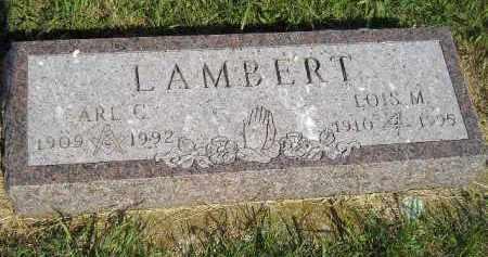 LAMBERT, EARL C. - Miner County, South Dakota | EARL C. LAMBERT - South Dakota Gravestone Photos