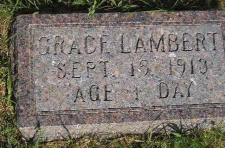 LAMBERT, GRACE - Miner County, South Dakota   GRACE LAMBERT - South Dakota Gravestone Photos