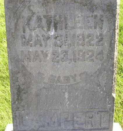 LAMBERT, KATHLEEN - Miner County, South Dakota | KATHLEEN LAMBERT - South Dakota Gravestone Photos