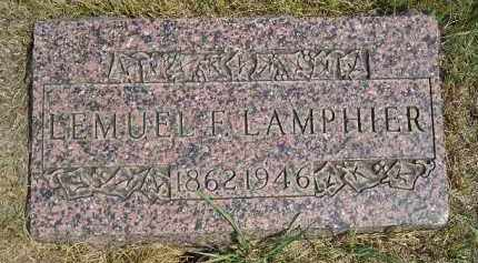 LAMPHIER, LEMUEL - Miner County, South Dakota | LEMUEL LAMPHIER - South Dakota Gravestone Photos
