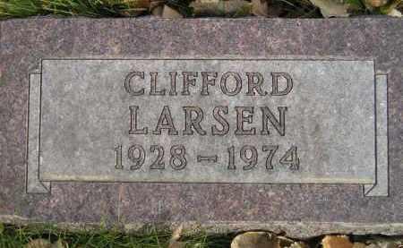 LARSEN, CLIFFORD - Miner County, South Dakota | CLIFFORD LARSEN - South Dakota Gravestone Photos