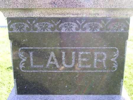 LAUER, FAMILY STONE - Miner County, South Dakota | FAMILY STONE LAUER - South Dakota Gravestone Photos