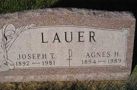 LAUER, JOSEPH T. - Miner County, South Dakota | JOSEPH T. LAUER - South Dakota Gravestone Photos