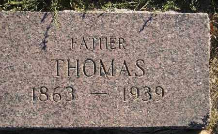 LAUER, THOMAS - Miner County, South Dakota   THOMAS LAUER - South Dakota Gravestone Photos