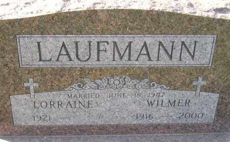LAUFMANN, LORRAINE - Miner County, South Dakota | LORRAINE LAUFMANN - South Dakota Gravestone Photos