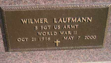 LAUFMANN, WILMER (WW II) - Miner County, South Dakota | WILMER (WW II) LAUFMANN - South Dakota Gravestone Photos