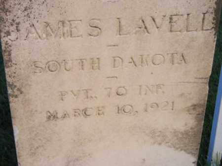 LAVELL, JAMES - Miner County, South Dakota | JAMES LAVELL - South Dakota Gravestone Photos