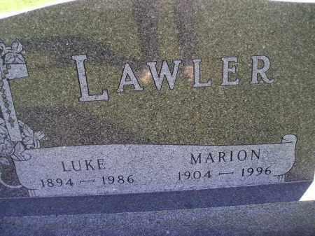 MALEY LAWLER, MARION - Miner County, South Dakota | MARION MALEY LAWLER - South Dakota Gravestone Photos