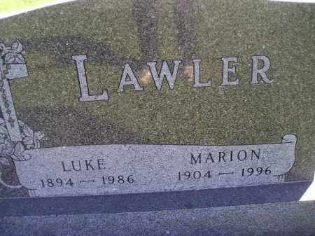 MALEY LAWLER, MARION - Miner County, South Dakota | MARION MALEY LAWLER - South Dakota Gravestone Photos