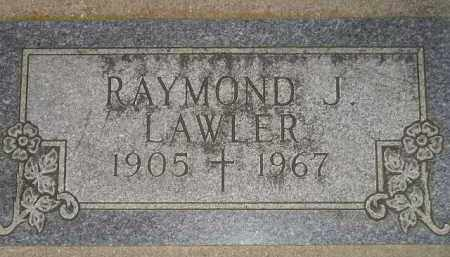 LAWLER, RAYMOND J. - Miner County, South Dakota | RAYMOND J. LAWLER - South Dakota Gravestone Photos