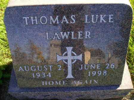 LAWLER, THOMAS LUKE - Miner County, South Dakota | THOMAS LUKE LAWLER - South Dakota Gravestone Photos