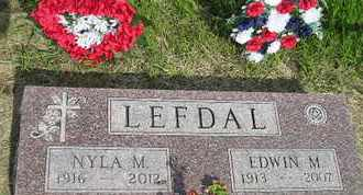 LEFDAL, NYLA M - Miner County, South Dakota | NYLA M LEFDAL - South Dakota Gravestone Photos