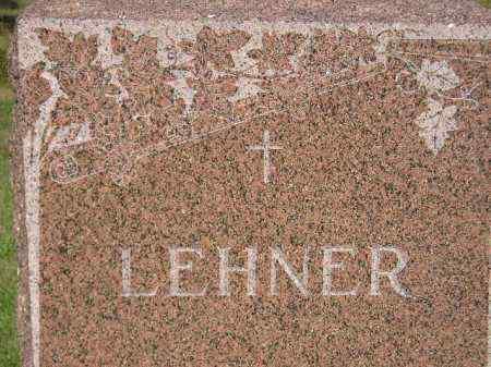 LEHNER, FAMILY STONE - Miner County, South Dakota | FAMILY STONE LEHNER - South Dakota Gravestone Photos