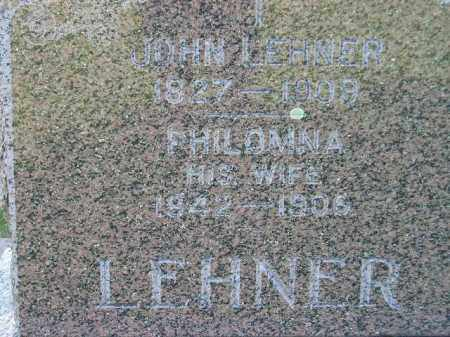 LEHNER, PHILOMNA - Miner County, South Dakota | PHILOMNA LEHNER - South Dakota Gravestone Photos