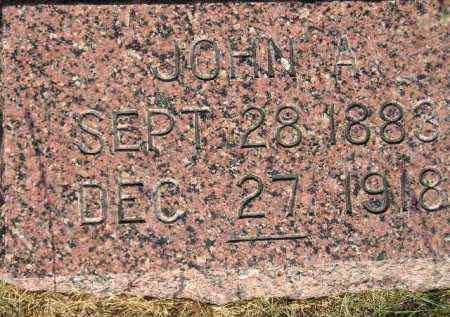 LEHNER, JOHN A. - Miner County, South Dakota | JOHN A. LEHNER - South Dakota Gravestone Photos