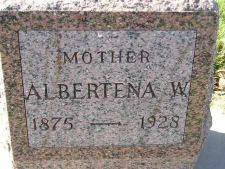 LENHART, ALBERTENA W. - Miner County, South Dakota | ALBERTENA W. LENHART - South Dakota Gravestone Photos