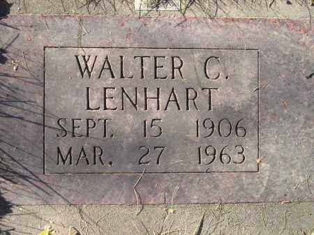 LENHART, WALTER C. - Miner County, South Dakota | WALTER C. LENHART - South Dakota Gravestone Photos