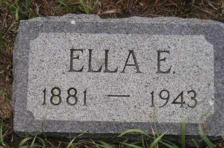 LEWIS, ELLA E. - Miner County, South Dakota   ELLA E. LEWIS - South Dakota Gravestone Photos