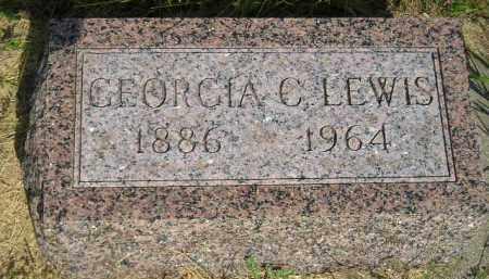 LEWIS, GEORGIA C. - Miner County, South Dakota | GEORGIA C. LEWIS - South Dakota Gravestone Photos