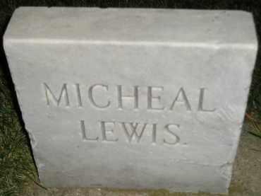 LEWIS, MICHEAL - Miner County, South Dakota | MICHEAL LEWIS - South Dakota Gravestone Photos
