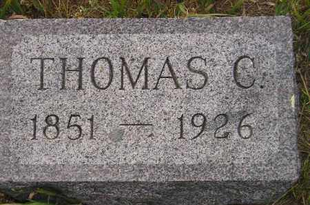 LEWIS, THOMAS C. - Miner County, South Dakota | THOMAS C. LEWIS - South Dakota Gravestone Photos