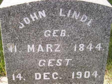 LINDE, JOHN - Miner County, South Dakota | JOHN LINDE - South Dakota Gravestone Photos