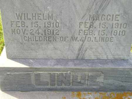 LINDE, WILHELM - Miner County, South Dakota | WILHELM LINDE - South Dakota Gravestone Photos