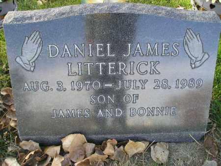 LITTERICK, DANIEL JAMES - Miner County, South Dakota   DANIEL JAMES LITTERICK - South Dakota Gravestone Photos