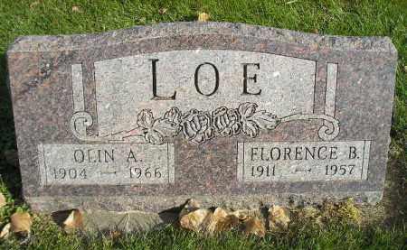 LOE, FLORENCE B. - Miner County, South Dakota | FLORENCE B. LOE - South Dakota Gravestone Photos