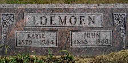 LOEMOEN, JOHN - Miner County, South Dakota | JOHN LOEMOEN - South Dakota Gravestone Photos