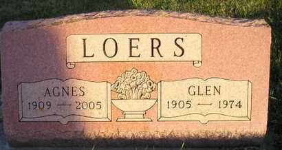 LOERS, AGNES MARGARET SCHLIM - Miner County, South Dakota | AGNES MARGARET SCHLIM LOERS - South Dakota Gravestone Photos
