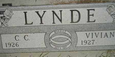 LYNDE, VIVIAN - Miner County, South Dakota | VIVIAN LYNDE - South Dakota Gravestone Photos