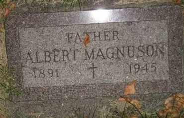 MAGNUSON, ALBERT - Miner County, South Dakota | ALBERT MAGNUSON - South Dakota Gravestone Photos