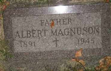 MAGNUSON, ALBERT - Miner County, South Dakota | ALBERT MAGNUSON - South Dakota Gravestone Photos