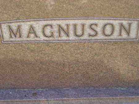 MAGNUSON, FAMILY STONE - Miner County, South Dakota | FAMILY STONE MAGNUSON - South Dakota Gravestone Photos