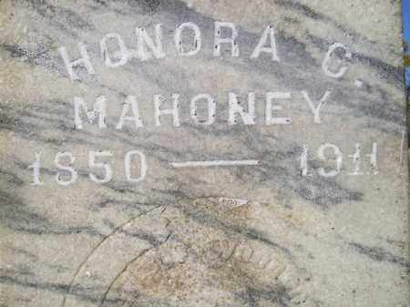 MAHONEY, HONORA C. - Miner County, South Dakota | HONORA C. MAHONEY - South Dakota Gravestone Photos