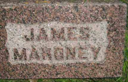 MAHONEY, JAMES - Miner County, South Dakota | JAMES MAHONEY - South Dakota Gravestone Photos