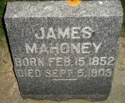 MAHONEY, JAMES - Miner County, South Dakota | JAMES MAHONEY - South Dakota Gravestone Photos