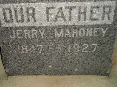 MAHONEY, JERRY - Miner County, South Dakota | JERRY MAHONEY - South Dakota Gravestone Photos