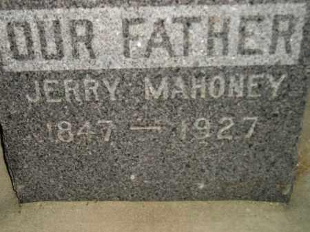 MAHONEY, JERRY - Miner County, South Dakota | JERRY MAHONEY - South Dakota Gravestone Photos