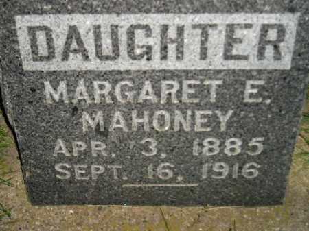 MAHONEY, MARGARET E. - Miner County, South Dakota | MARGARET E. MAHONEY - South Dakota Gravestone Photos