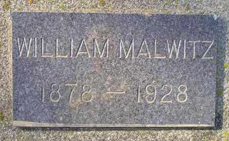 MALWITZ, WILLIAM - Miner County, South Dakota | WILLIAM MALWITZ - South Dakota Gravestone Photos